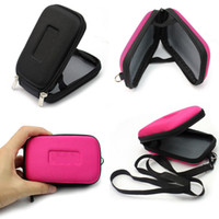 Wholesale Square Camera Bag - New Universal Portable Waterproof Hard Digital Camera Storage Bag Case Cover Protective Pouch With Zipper