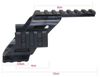 "Wholesale Weaver Mount Rails - Universal Tactical Pistol Scope Sight Laser Light Mount With Quad 7 8"" Weaver & Picatinny Rail Glock 17 5.56"