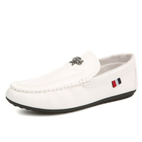 Wholesale Cool Zipper Shoes - Summer Cool Men's Loafers Shoes Slip On Breathable Soft Sole Flat Moccasins Casual Driving Loafers with Zipper 3 Colors