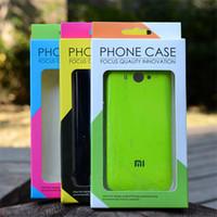 cajas de la cubierta del teléfono celular al por mayor-Paquete de Vacío Universal Vacío Paquete de Caja de Papel para iphone 6 6S 7 plus 5S Samsung S6 edge S5 S4 Cubierta de cuero del teléfono