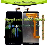 """Wholesale Viewsonic Screen - Wholesale- 100%Tested 5.5"""" inch Touch Screen For ViewSonic V500 V500-3 LCD Display Digitizer Complete Assembly With Free Tools"""
