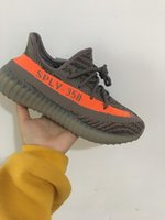 Wholesale Steel Sole Shoes - beluga 350 Boost V2 shoes Beluga Transparent sole SPLY-Shoes Steel Grey Shoes Man Running Shoes
