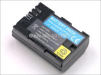 Wholesale Eos 5d Mark Digital Camera - LP-E6 LP E6 Rechargeable Camera Digital Battery + Micro USB Charger For Canon EOS 5D Mark II III 6D 7D 60D 60Da 5D2