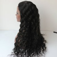 Wholesale Long Curly Heavy Wig - Deep Curly Lace Front Human Hair Wigs Super Heavy 300 density Brazilian Lace front Wigs for Black Women 100% human hair