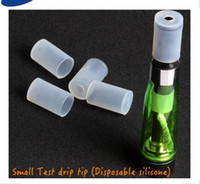 Wholesale Cheapest Disposable Electronic Cigarette - 510 Long Mouthpiece Disposable Drip Tips Cheapest Silicone Testing for Electronic Cigarette ego CE4 CE5 ego ecig drip tips