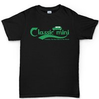Wholesale Mini Classic Car - Top Tee Classic Mini Austin Cooper Car 1275 Beer T shirt Quality T Shirts Men Printing Short Sleeve O Neck Tshirt