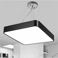 Moderne Glanzleuchte Led Pendant Light Metal Dimmable Office Pendelleuchte Indoor Lighting Fixture Esszimmer Suspension Lampe