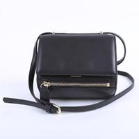 Wholesale Antigona Bag - WOMEN'S PANDORA'S BOX ANTIGONA DUFFLE TOTE BOSTON BAG CLASSIC SHOULDER MONOGRAMME BAG HANDBAG PURSE 099 BLACK