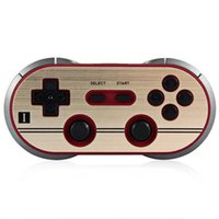 Compra Telefono Di Linux-8Bitdo NES30 Pro Bluetooth Wireless Gamepad smart phone Controller Dual classico joystick per iOS Android Gamepad PC Mac Linux in scatola al minuto