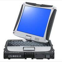 Wholesale Laptops Rotating Screens - car diagnostic laptop toughbook cf-19 rotate screen ram 4gb works with vas5054, sd c5, icom next