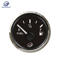 "Wholesale Marine Fuel Gauge - Genuine Marine GM-EP-E0001 3 7 190 Ohm 2""(52mm) Digital Analogue Fuel Level Gauge Kit with LED Light for 12V 24V Vehicles Motor Boats Truck"