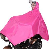 Wholesale Bicycle Rain Gear - wholesale retail, individual driver ride bicycle Motorcycle raincoat poncho rain gear Oxford cloth