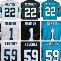 Wholesale Drop Cam - mens stitched 22 Christian McCaffrey #1 Cam Newton #59 Luke Kuechly #88 Greg Olsen Jerseys 13 Kelvin Benjamin Drop Shipping Mix order