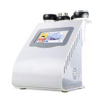 Wholesale 5in1 Ultrasonic Liposuction Cavitation - 5in1 portable vacuum ultrasonic liposuction cavitation RF bipolar radio frequency cellulite removal machine