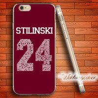 Wholesale Teen Wolf Iphone Case - Coque Teen Wolf Stilinski Soft Clear TPU Case for iPhone 7 6 6S Plus 5S SE 5 5C 4S 4 Case Silicone Cover.