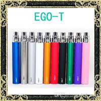 Wholesale e cigarette oem - Ego t Battery eGo-T Batteries E Cigarette Ego Batteries for 510 Thread Vaporizer mt3 CE4 CE5 CE6 atomizer 650 900 1100mah OEM Available