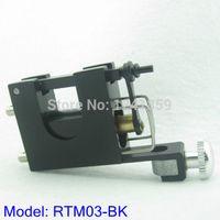 Wholesale Aluminium Castings - Wholesale- Free Shipping Cast Aluminium Rotary Motor Tattoo Machine Gun Supply RTM03-BK#