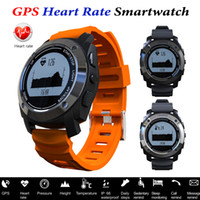 Wholesale Sports Watches Altimeter - S928 Sport Smart Watch GPS Heart Rate Monitor SmartBand Outdoor Smartwatch Air Pressure Altimeter Fitness Wristwatch For IOS Android Phone