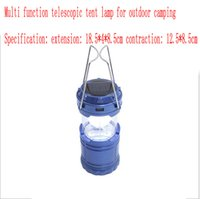 UK super bright led camping lantern - 2017 New Outdoor tent camping tent lamp rechargeable LED solar lamp super bright multifunctional camping lantern lamp