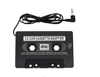 Wholesale Cheap Transmitter - 3.5mm Universal Car Audio Cassette Adapter Audio Stereo Cassette Tape Adapter for MP3 Player Phone MP3   MP4 Player Car Stereo Cheap