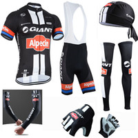 Wholesale Giant Bike Jersey Set - New team Giant cycling clothing full set pro men Cycling jersey Alpecin ropa ciclismo bike Clothes mtb bicycle maillot ciclismo C2001