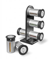 Wholesale Sets Canisters - Counter top Magnetic Spice Stand Organizer Canisters Set of 6