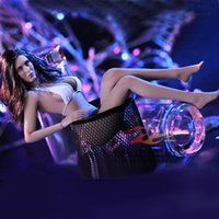 Wholesale Phicen Seamless - PLLB2014-S09 Phicen 1 6 Action Figure Doll Super-Flexible Female Seamless Body Movable with Stainless Steel Skeleton in Big Bust
