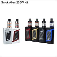 Высококачественный SMOK Alien Kit с 220W Alien 220 Mod Firmware Upgradeable 3 мл TFV8 Baby Tank Top Refill System DHL