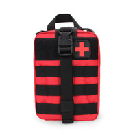 Wholesale Outdoor Medical Kits - 7Colors Zipper closed wholesale Outdoor travel sport first aid kit bag Tactical medical package climbing life package