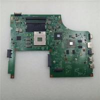 tarjeta gráfica nvidia para portátil al por mayor-48.4RU06.011 para Dell Vostro 3700 HM57 Laptop Motherboard con tarjeta gráfica discreta N11P-GE1-A3 probada