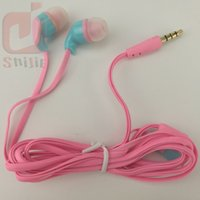 Wholesale Wholesaler Price Noodles - flat noodle gift headset earphones headphones earcup low price Large use Purchase quality factory wholesale 300ps lot