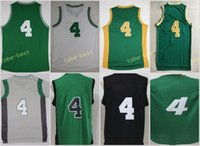 Wholesale Thomas Top - Top Sale 4 Isaiah Thomas Jersey Throwback Sport Basketball Jerseys Green With Black Name Number Gold Christmas White Grey Stitched With Name