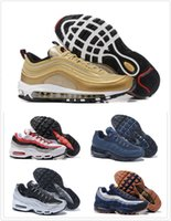 Wholesale Outdoor Coloured Lights - Air Sports 95 Running Shoes Hight Quality 30 Colour Mens Black Men best Athletic walking Tennis Shoes Grey Man Training Sneakers EUR 40-46