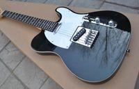 Wholesale Red Black Custom Guitar - Wholesale- Factory custom shop Custom black telecaster Electric Guitar rosewood Fingerboard Free shipping