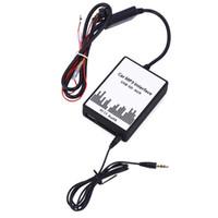 arabirim çipi usb toptan satış-Ses Dijital CD Değiştirici DC 12 V BMW 4 için Dahili Amplifikatör Cips Hiçbir Sinyal Interfere Araba MP3 Arayüzü USB / SD Veri Kablosu
