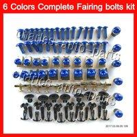 Wholesale Rc51 Fairings - Fairing bolts full screw kit For HONDA VTR1000 2000 2001 2002 2003 04 2005 2006 RC51 SP1 SP2 VTR 1000 Body Nuts screws nut bolt kit 13Colors