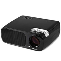 Wholesale Av Input Tv - Wholesale- Projector UhAPPy U-20 LCD Projector 2600 Lumens 800 x 480 Pixels With TV DTV AV Y-Pb-Pr Input Projector For Home Entertainment