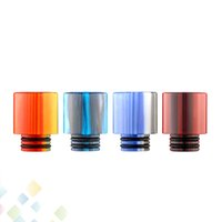 Wholesale Wholesale Acrylic Babies - TFV8 Baby Drip Tip 510 Acrylic Drip Tips Wide Bore Colorful Mouthpieces Fit 510 Atomizers E Cigarette DHL Free