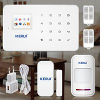 Wholesale Wireless Gsm Home Alarm Systems - GSM Alarm Systems Android IOS APP Alarms Home Security System