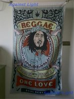 Wholesale Posters Banners - BOB Marley Poster Flag 90 x 150 cm Polyester Hippie True Legend Reggae Rasta Music Festival Wall Hanging Fabric Banner
