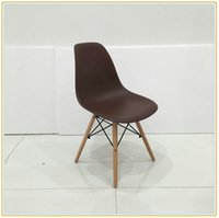 Wholesale Eames Chair Natural Wood Legs Eiffel Lounge Chair Set Of Simple Assembly With Prepared Accessories Carton Packing New Arrival Model No F0
