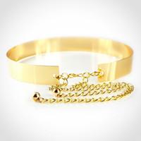 Wholesale Wide Width Belts - Hot Sale brand designer belts for women metal chain lady luxury belts Metal sequins girdle width 1.2cm 2cm 3cm 3.5cm 4.5cm 6cm