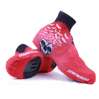 Wholesale Waterproof Shoe Covers Red - Waterproof Outdoor Sport Shoe Cover Thermal Mountain Bike Windproof Overshoes Protector Cycling Bicycle Shoe Covers