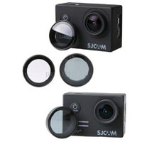 Wholesale camera accessories uv filter for sale - SJCAM Accessories SJ4000 SJ5000 UV lens filter Cap for SJ4000 SJ7000 SJ5000 Sport Camera Wifi Transparent ND Gray Color Filter