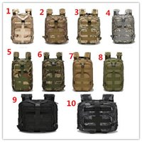 Wholesale Outdoor Backpack Outdoor Sports Backpack Military Enthusiasts Tactical Package L Oxford Waterproof Camouflage Bags