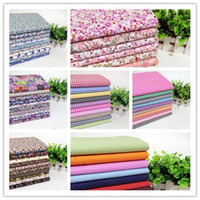 Wholesale Sewing Fabric Wholesalers - 70 pieces lot 50cmx50cm 100% Cotton Patchwork Fabric Bundle, Sewing Cloth for The Tilda Fabric Wholesale
