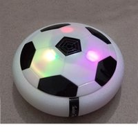 Wholesale Creative light up toys Bright light Suspension football Electric soccer kids boy indoor toy Good sprot ball Air Power Soccer