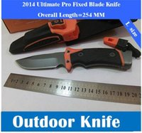 Wholesale Edge Knife Sharpener - New Pro Fixed Blade Knife Camping Hunting Survival Knives Tactical Ultimate Fine Edge & Diamond Sharpener