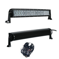 Wholesale 11 Inch Led Truck Light - 5D 22 Inch 200W Curved LED Light Bar with Wire Kit 12V 24V Combo Beam for Offroad Boat Car Truck ATV SUV 4WD 4x4 Work Lamp
