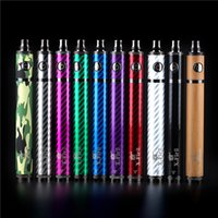 Wholesale Vision X.fir Ii - ECT original twist Battery X.Fir II 1600mah vision spinner 2 upgraded version electronic cigarette 3.3V-4.8V 8colors available DHL free